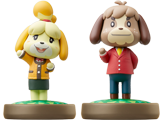 amiibo - Isabelle + Digby - Animal Crossing V1