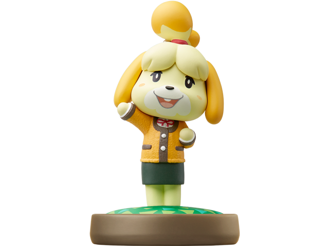 amiibo - Isabelle Winter Outfit - Animal Crossing V1