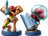 amiibo - Samus Aran + Metroid - Metroid