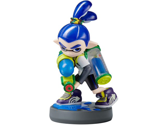 amiibo - Inkling Boy - Splatoon V1