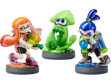 amiibo - Inkling Squid + Boy + Girl - Splatoon V1