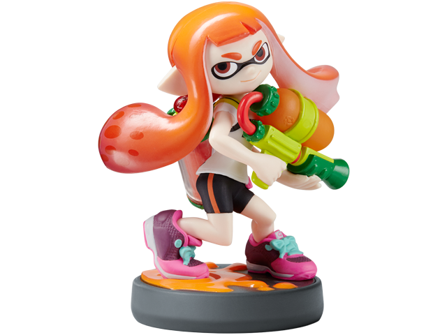 amiibo - Inkling Girl - Splatoon V1