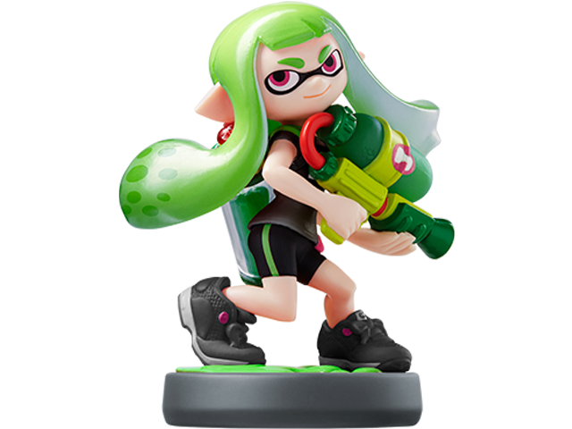 amiibo - Inkling Girl - Splatoon V2