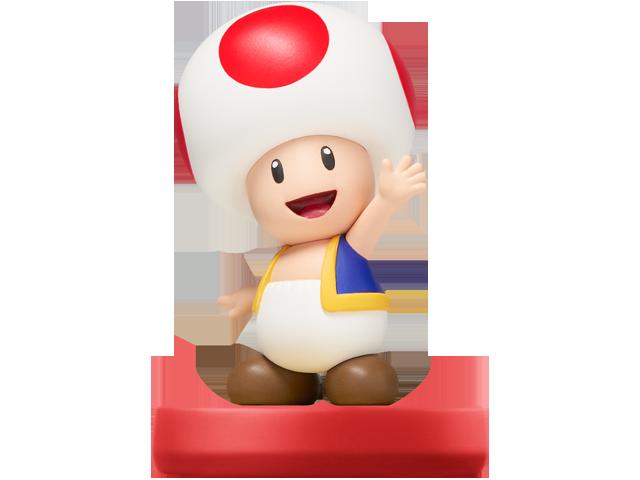 amiibo - Toad - Super Mario V1