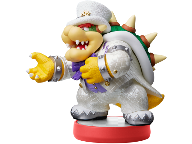 amiibo - Bowser - Wedding Outfit - Super Mario Odyssey V1