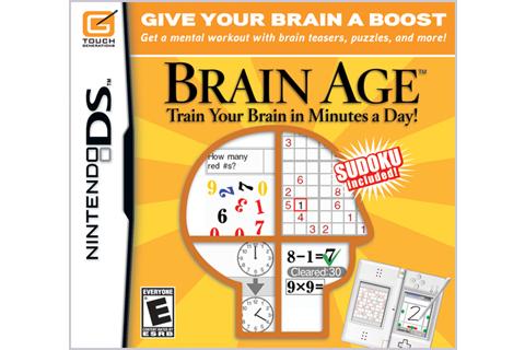 Brain Age DS - Box Art