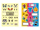 LABO - Customization Kit - 1 - Sticker Sheet - Eyes + Misc