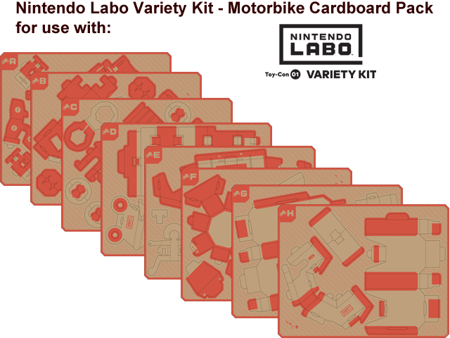 LABO - Toy-Con 01 - Variety - Motorbike - All