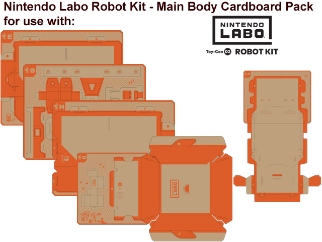 LABO - Toy-Con 02 - Robot - Body - All