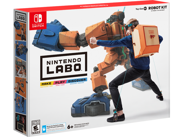 LABO - Toy-Con 02 - Robot - Package