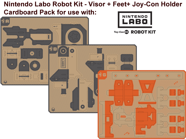 LABO - Toy-Con 02 - Robot - Visor - All