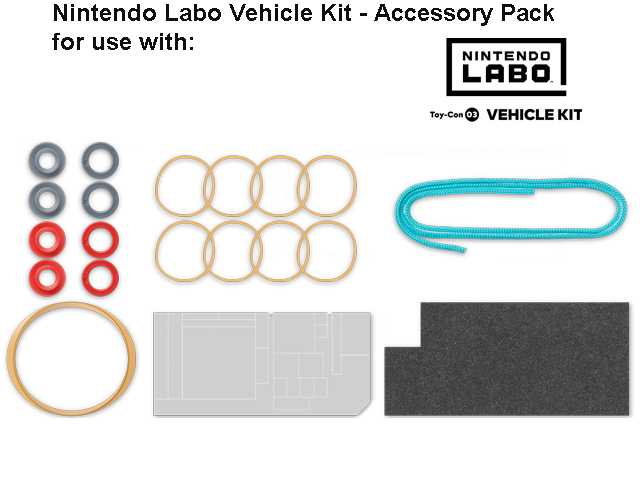 LABO - Toy-Con 03 - Vehicle - Accessory Set - All