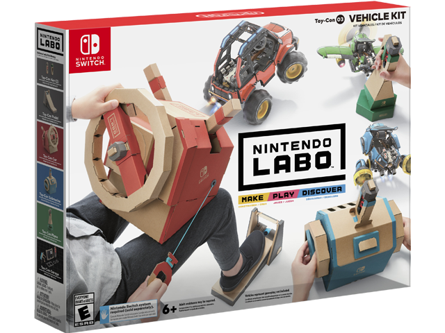 LABO - Toy-Con 03 - Vehicle - Package