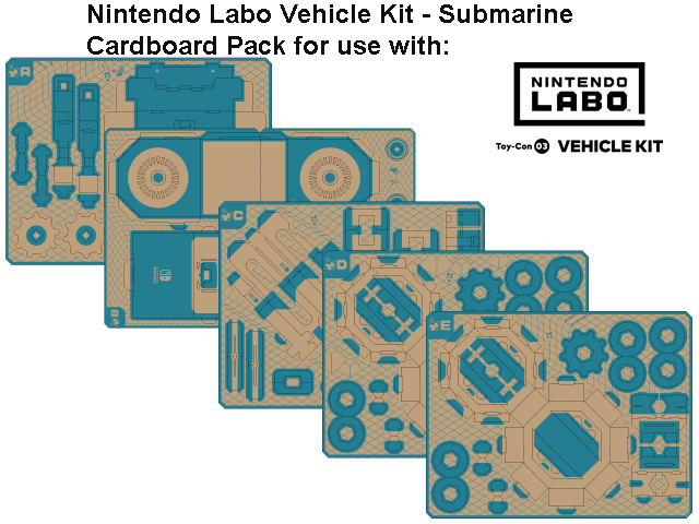 LABO - Toy-Con 03 - Vehicle - Submarine - All