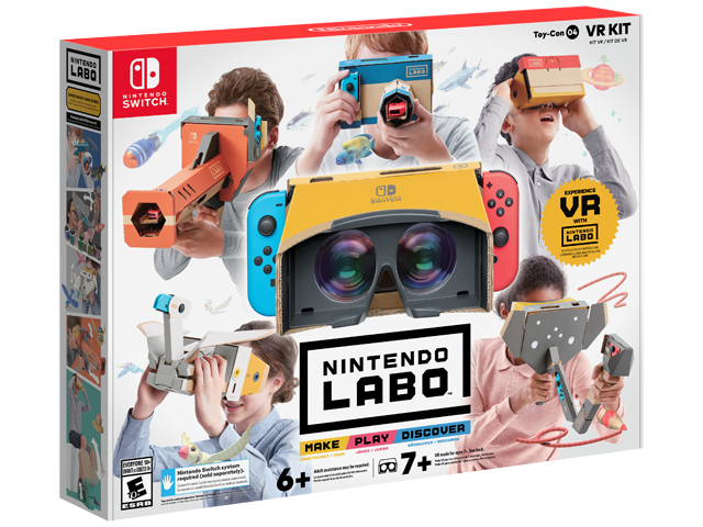 LABO - Toy-Con 04 - VR - Full Kit - Package