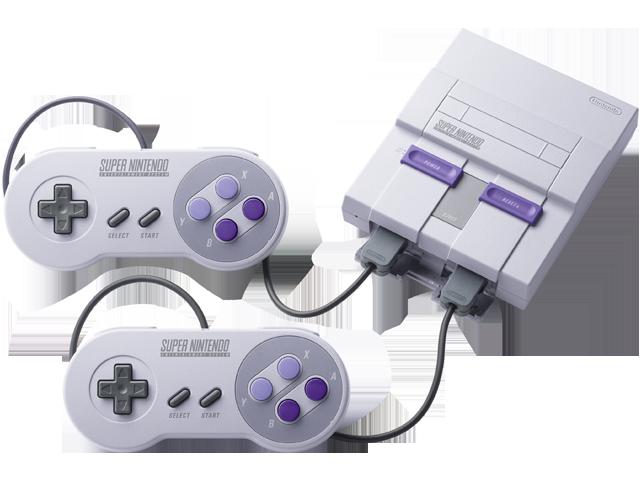 Super NES Classic Edition - Console + Controllers