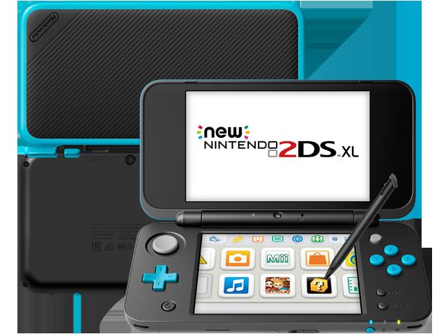 new nintendo 2ds xl black turquoise refurbished nintendo 3ds rh store nintendo com Nintendo DSi Nintendo DS Lite Repair Center