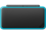 New Nintendo 2DS XL - Black + Turquoise - Closed