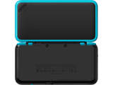 New Nintendo 2DS XL - Black + Turquoise - Open - Back - 1