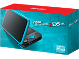 New Nintendo 2DS XL - Black + Turquoise - Package