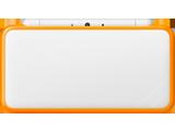 New Nintendo 2DS XL - White + Orange - Closed