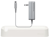 New Nintendo 3DS Charging Cradle + AC Adapter Bundle
