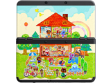 Cover Plate 62 - New Nintendo 3DS - AC:HHD - House - Black