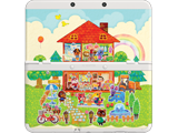 Cover Plate 62 - New Nintendo 3DS - AC:HHD - House - White
