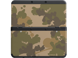 Cover Plate 44 - New Nintendo 3DS - Camouflage - Black