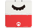 Cover Plate 47 - New Nintendo 3DS - Mario Mustache - White