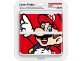 Cover Plate 01 - New Nintendo 3DS - Mario (Pointing Up) - Package