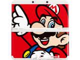 Cover Plate 01 - New Nintendo 3DS - Mario (Pointing Up) - White