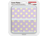 Cover Plate 28 - New Nintendo 3DS - Purple with Yellow Stars - Package