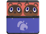 Cover Plate 14 - New Nintendo 3DS - Timmy & Tommy Nook - Black