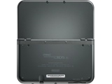 New Nintendo 3DS XL - New Black - Open - Back