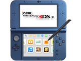 New Nintendo 3DS XL - New Galaxy - Open - Screen On - Stylus