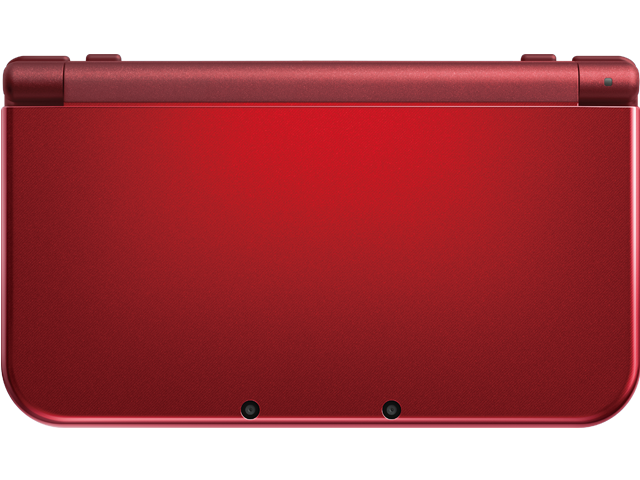 New Nintendo 3DS XL - New Red - Closed