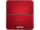 New Nintendo 3DS XL - New Red - Open - Back