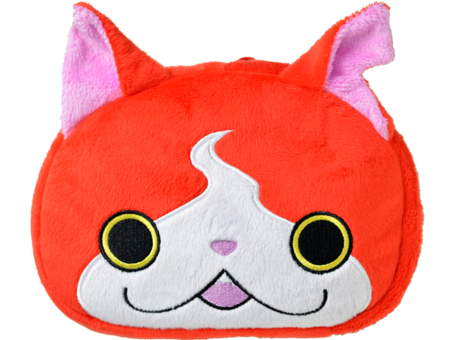 Hori New Nintendo 3DS XL Jibanyan Plush Pouch Case
