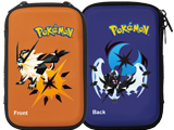 Hori - Pokemon Ultra Sun + Ultra Moon - Hard Pouch - Front + Back
