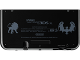 Battery Cover Kit - New Nintendo 3DS XL - Solgaleo + Lunala Black