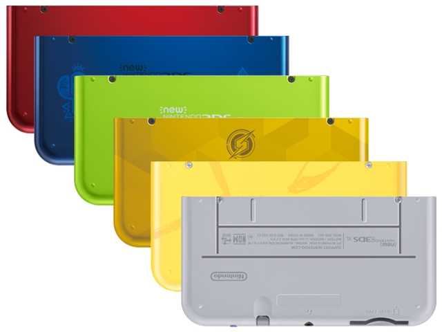 Battery Cover Kit - New Nintendo 3DS XL - Multicolor - 2