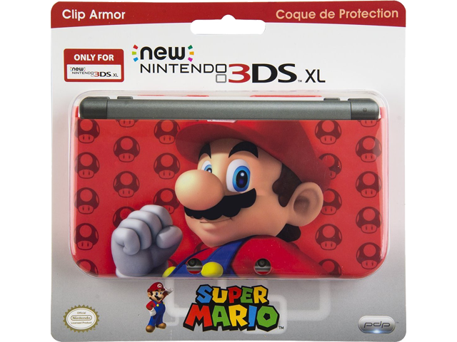 PDP - New Nintendo 3DS XL - Clip Armor - Mario - Package