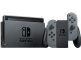 Nintendo Switch Console - Gray L + R - Joy-Con Grip