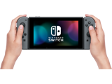 Nintendo Switch Console - Gray L + R + Screen + Lifestyle