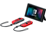Nintendo Switch Console - Super Mario Odyssey - Angle + Joy-Cons