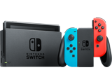 Nintendo Switch Console - Neon Blue L + Neon Red R - Joy-Con Grip