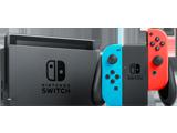 Nintendo Switch Console - Neon Blue L + Neon Red R - Joy-Con Grip