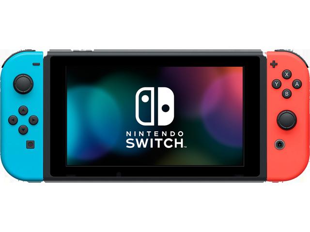 Nintendo Switch Console - Neon Blue L + Neon Red R + Screen