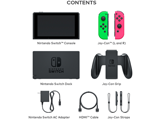 Nintendo Switch Console - Neon Green L + Neon Pink R - Items